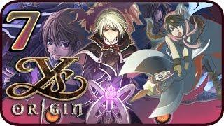 ys origin walkthrough part 7 ps4 vita gameplay yunica ending