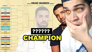 What is Drake's BEST Song? (Drake Madness Bracket)