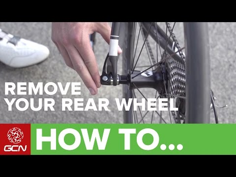 How To Remove And Replace Your Rear Wheel