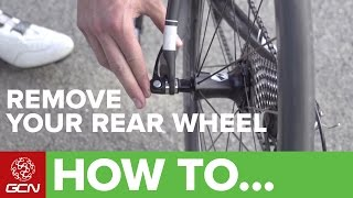 How To Remove Aฑd Replace Your Rear Wheel