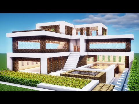 easy-minecraft:-house-tutorial---how-to-build-a-modern-house-in-minecraft-#34