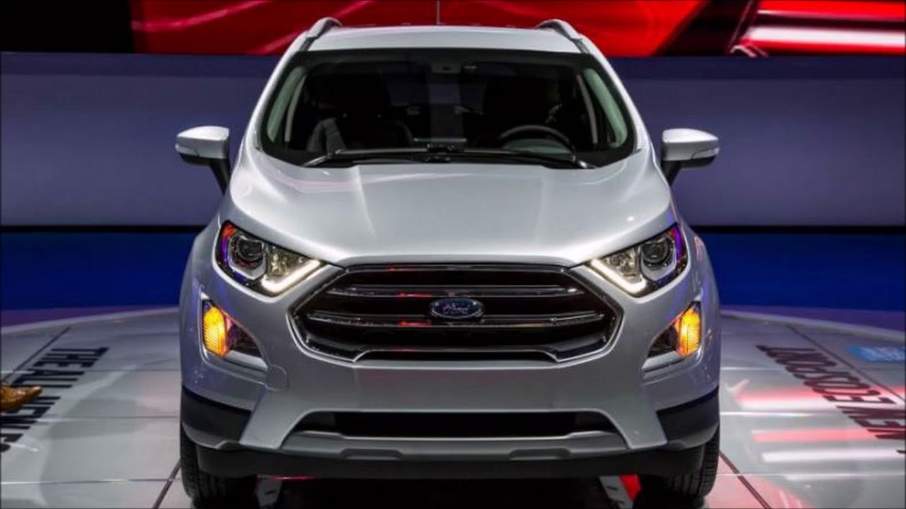 2018 ford ecosport price