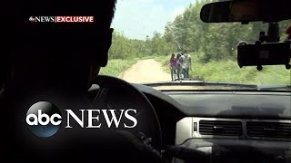 Chasing alleged human smugglers on the South Texas border
