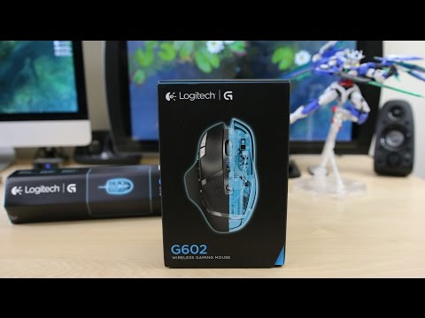 Logitech G602 Wireless Gaming Mouse Unboxing