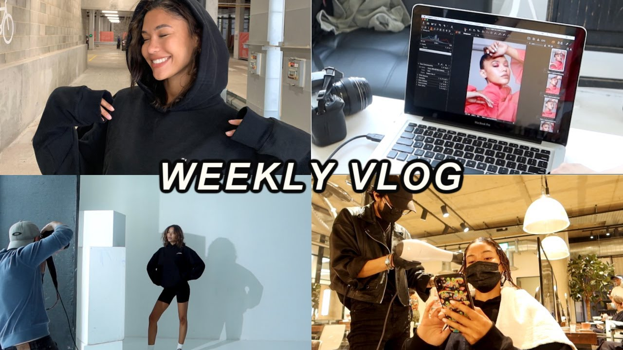 WEEKLY VLOG - Flying home, hair treatments & try on haul