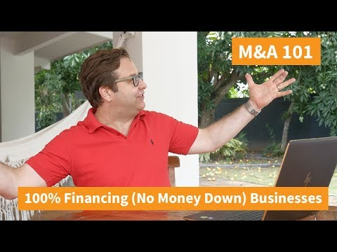 100% Seller Financing (No Money Down) Businesses