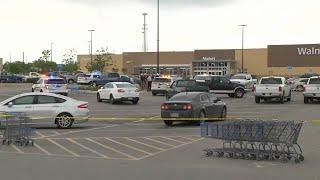 Woman found dead in truck at Walmart