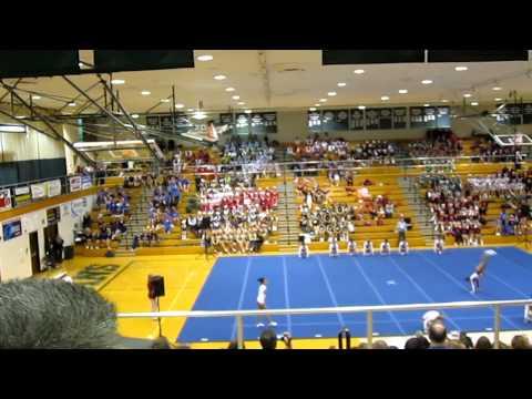 Fishers High School Cheer Regionals 2011