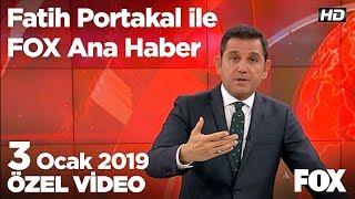 Erdoğan: CHP'nin ilişkileri ittifak değil, ihanet! 3 Ocak 2019 Fatih Portakal ile FOX Ana Haber
