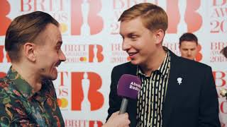 George Ezra at the BRITs: Red carpet nerves, new podcast and running late
