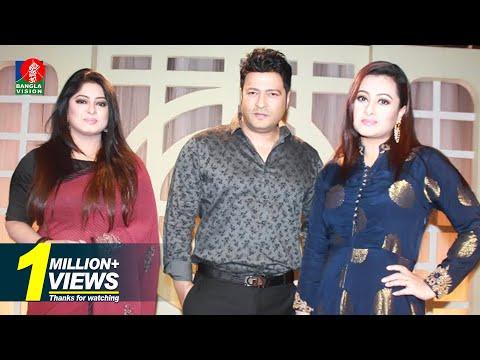 Taray Taray Anondo Utshob Er Golpo | Ferdoush, Moushumi & Purnima | Shahid Sampad | Full HD