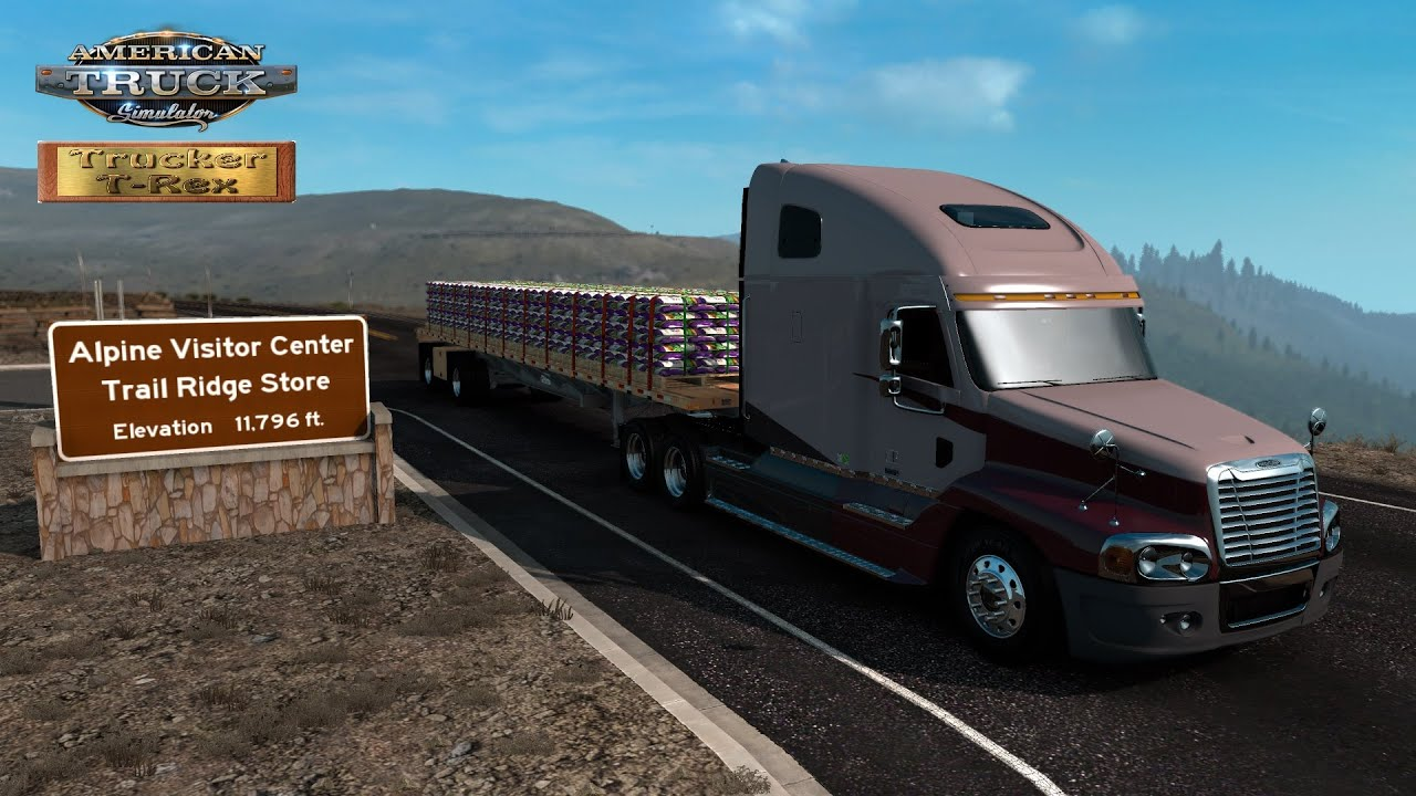 American Truck Simulator video number 370