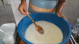 Receita Sabão Liquido de Coco Sem Soda e Óleo