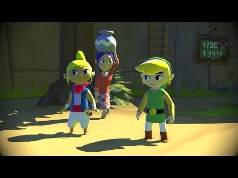 "The Legend of Zelda: The Wind Waker HD - E3 2013 Official Trailer (Wii U Exclusive) ""Wind Waker"""