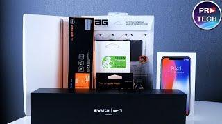 Распаковка крутых аксессуаров для iPhone X, iPad и Apple Watch | ProTech