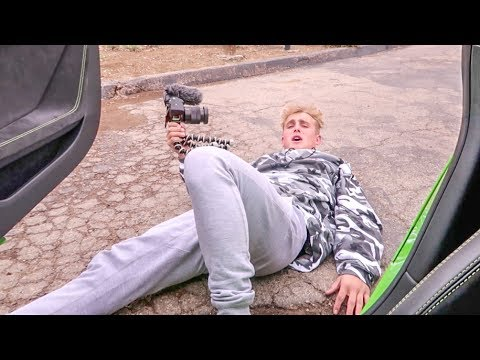 SCARING Jake Paul In My Lamborghini!!!