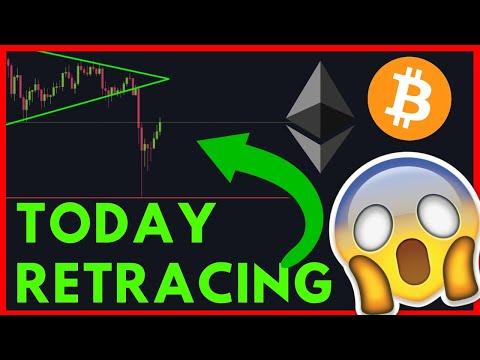Ethereum \u0026 Bitcoin Retracing Today! IS IT OVER?