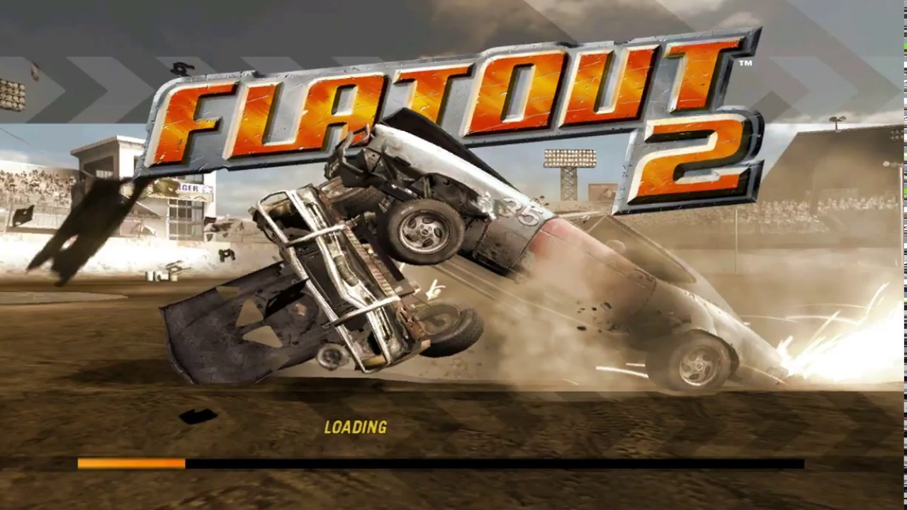 Gaming with Netbooks: FlatOut 2 with Widescreen Fix