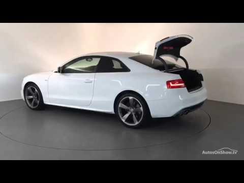 FE13FSF AUDI A5 TDI S LINE BLACK EDITION WHITE 2013, Derby Audi