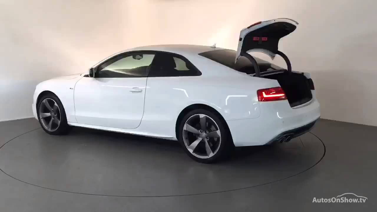 FEFSF AUDI A TDI S LINE BLACK EDITION WHITE Derby Audi - White audi a5