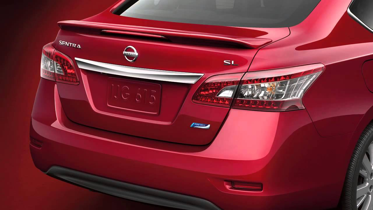 2013 NISSAN Sentra - Trunk Release - YouTube