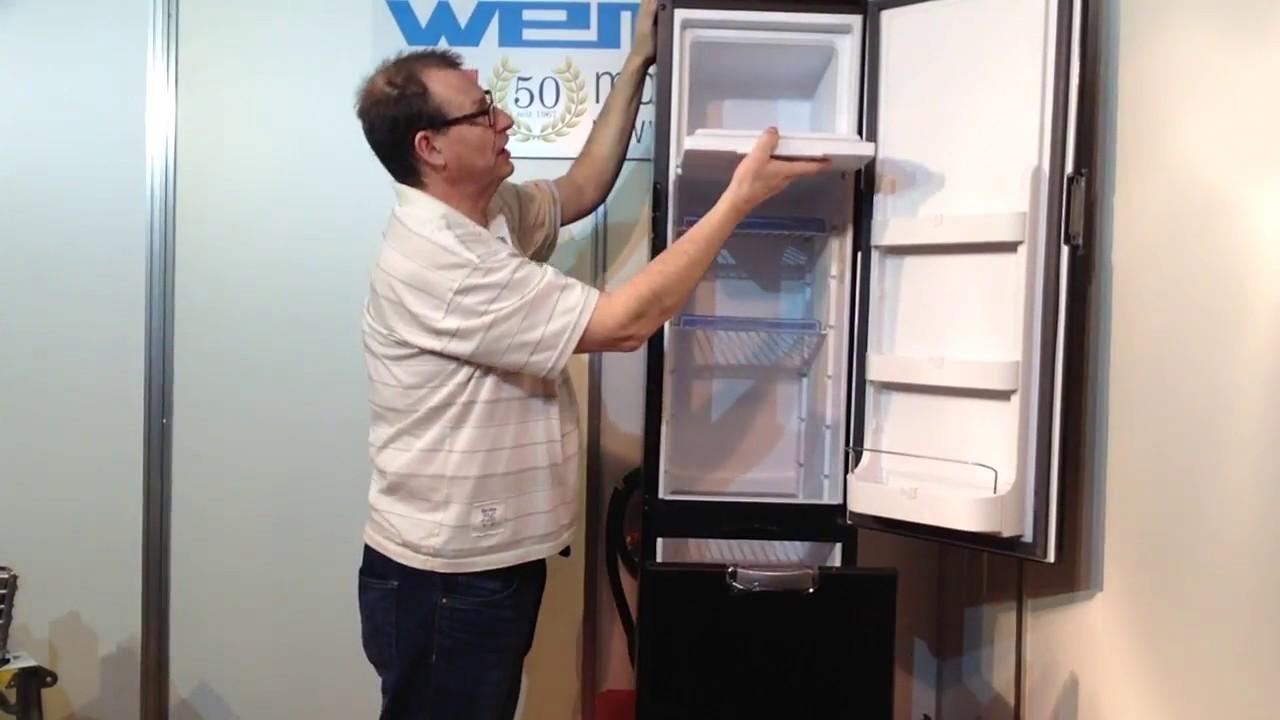 Wohnmobilkühlschrank WEMO 8 slim 8V 8 Volt Kompressor Kühlschrank  thedford N8E Solar