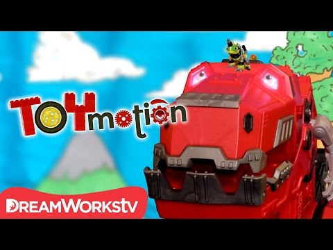 DinoTrux Opening Credits In Stop Motion I TOYMOTION