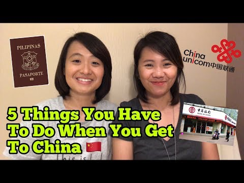 5 Things You Have To Do When You Get To China