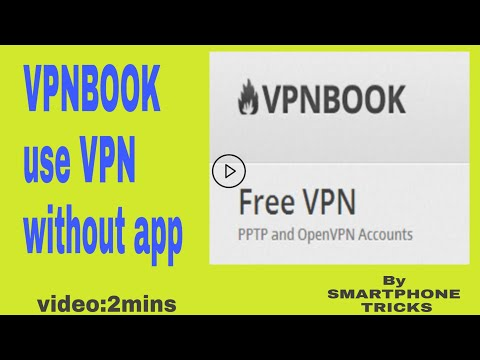 VPNBOOK| use VPN without any app | ANDROID TRICKS | Smartphone Tricks|