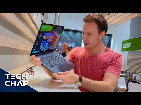 Acer Swift 5 (2018) Hands-On - World's Lightest 15-inch Laptop!   The Tech Chap