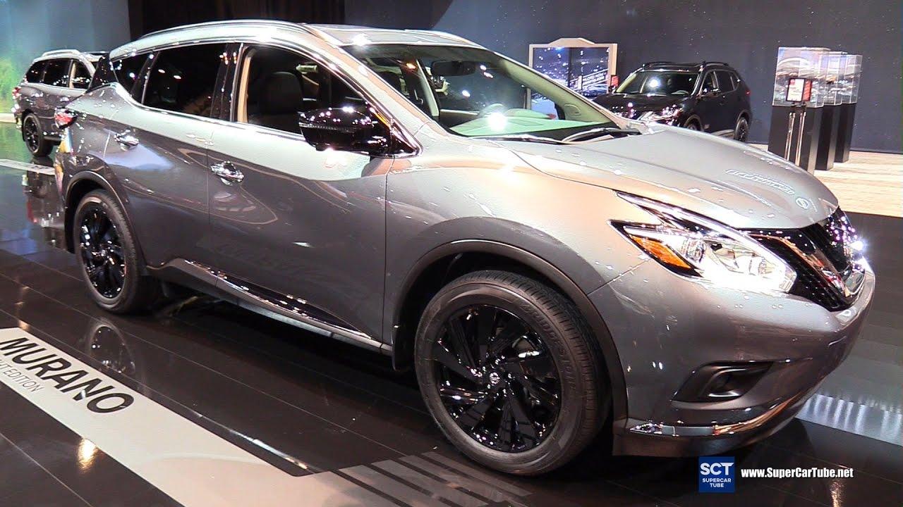 2017 Nissan Murano Midnight Edition >> 2017 Nissan Murano Midnight Edition - Exterior and Interior Walkaround - 2017 Chicago Auto Show ...