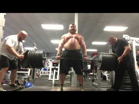EDDIE HALL ''DEATH BY DEADLIFT'' at Strength Asylum