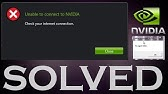 How To FIX Nvidia GeForce Experience - Unable To Connect To