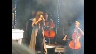 """Karlskoga festen 27 juni 2012 Loreen sjunger """"Sober"""""""