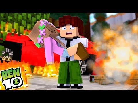 BEN 10 SAVES LITTLE KELLYS LIFE | Minecraft Little Kelly