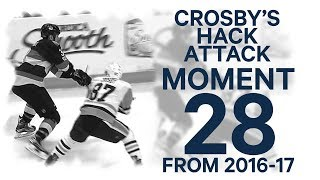 No 28/100: Crosby obliterates Methot's finger (WARNING - graphic footage)