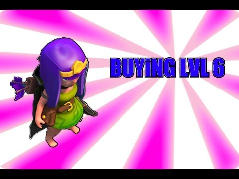 Clash of Clans - Buying NEW level 6 troops