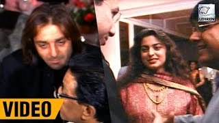 Sanjay Dutt's Rare Footage - Partying With Bal Thackeray And Bollywood Celebs