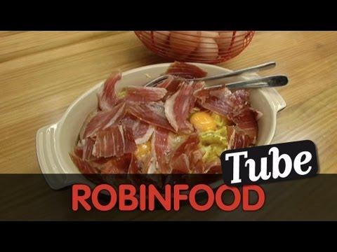 ROBINFOOD / ¡Socorro! me han regalado un jamón + Huevos con patatas y jamón express