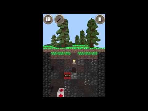 Dig Down gameplay (iOS/Android/Fire TV)