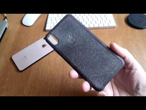 My Apple Original Leather Case for iPhone XS Max after 6 months!
