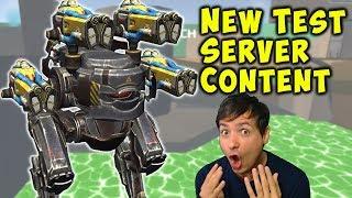 NEW War Robots REBALANCE & Content - Test Server Gameplay WR