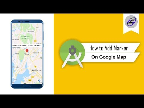 How To Add Marker On Google Map In Android Studio | AddMarker | Android Coding