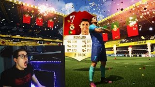 FIFA 17: OMFG 97 RONALDO IN A PACK! BEST PACK OPENING OF MY LIFE!! - ULTIMATE TEAM