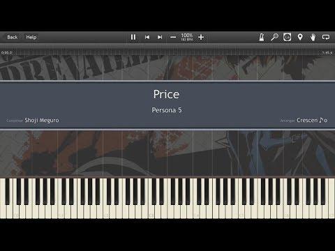 【Persona 5】 Price「Piano Cover (Synthesia)」