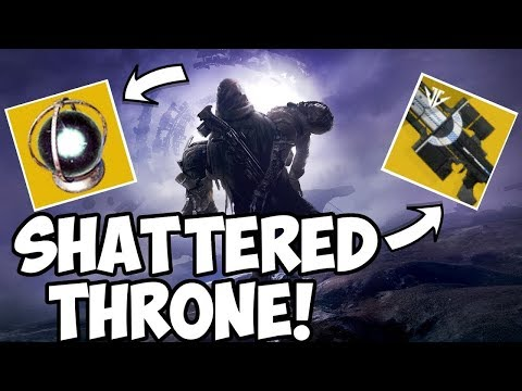 Destiny 2 | Shattered Throne Carries For Ascendant Glass! Wish Ender CP Available!