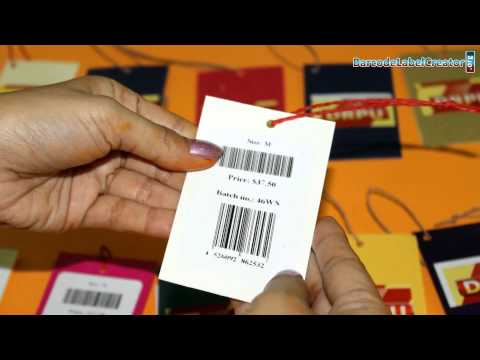 Basic requirement to design and print barcode labels