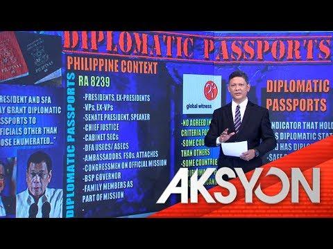 EXPLAINER: DIPLOMATIC PASSPORTS