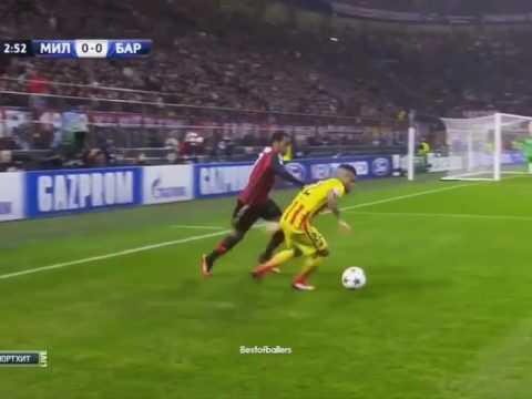 Robinho vs Sanchez (Milan-Barcelona)