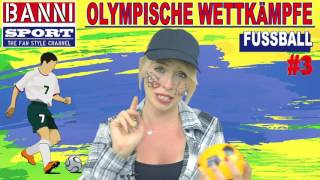 FACEBOOK Trailer FUSSBALL Soccer Football - Olympic Wettkampf - Banni Sport Fan Style & Make-up